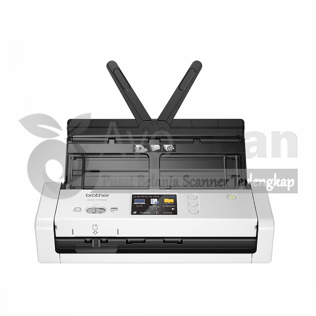 Brother ADS-1700W - Folio/F4 - 25 lbr/menit